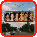 Billboard Frame Photo