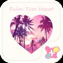 Cool Theme-Palm Tree Heart-