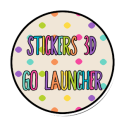 Stickers 3D Go Launcher