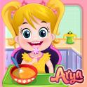 Baby Arya in Kitchen