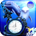 Clock Aquarium Live Wallpaper.