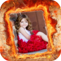 Fire Frame Photo Editor