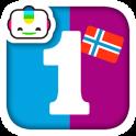 Bogga Tall norsk Lær å telle