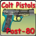 Post-1980 Colt pistols