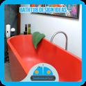 Badewanne Design-Ideen