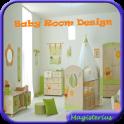 Niedliche Baby-Raum-Design