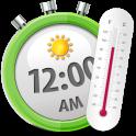 Temperature Clock Widget