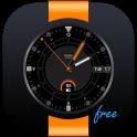 Orange Point Free Watch Face