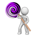 Purple Cobalt Lollipop - CM12