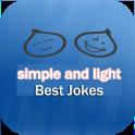 Funny jokes and humorous light