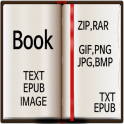 Book Reader(Image,Text Viewer)