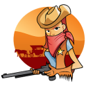 Little boys cowboy game