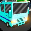Cube City Bus Simulator 3D
