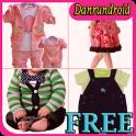 Baby Clothes Model Design