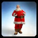 3D Santa Live Wallpaper