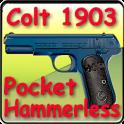 "Colt 1903 pocket ""hammerless"""