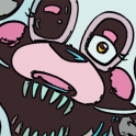 How to draw Mangle FNAF