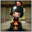 3D Japonaise Geisha Doll
