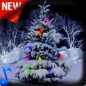 Snowy Christmas Tree 3D