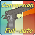 Conversion full-auto Browning