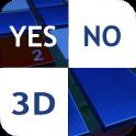 Não Clique Branco 3D