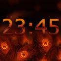 Peacock Pride Digital Clock