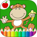 Animais da selva Coloring Book