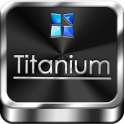 Next Launcher Theme Titanium