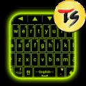 Neon Sign Skin for TS Keyboard