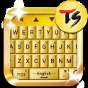Gold Bar Skin for TS Keyboard