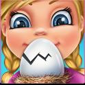 달걀 돌보기 - 취급주의