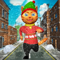 Leo Cat Run Ice - Frozen Cidad