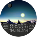 New Horizon Watch Face