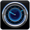 ATLAS STAR LASER analog CLOCK WIDGET