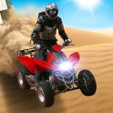 4x4 Off-Road-Wüste ATV