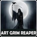 Cool Art Grim Reaper Wallpaper