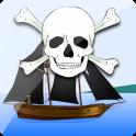 Guerra dos navios piratas.