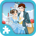 Cinderella Puzzles- grátis