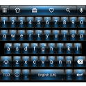 Dusk Blue Emoji Keyboard
