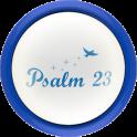Psalm 23 Button