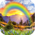 Regenbogen Live Wallpaper HD