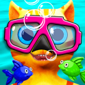 Cat Leo's Fish Hunt Water Race