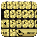 Tastatur-Theme MetalGold