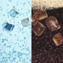 Water and cola live wallpaper