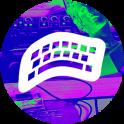 VAPORWAVE Keyboard Ω
