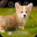 Cute Puppy Keypad Screen Lock