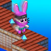 Ninja Bunny ZigZag Jump Run 3D