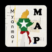 Myanmar Bagan Map