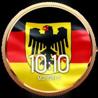 Animated German Flag Watchface