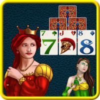 Fantasy Solitaire TriPeaks ♣ Free Card Game